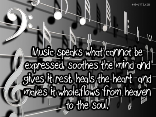 Music Soothes the Soul