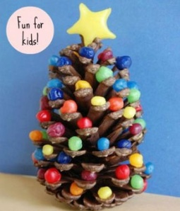 The DIY (do it yourself) website has a lot of wonderful and fun ideas for creative projects to do with your young ones. 25 Simple Christmas crafts. Pick your favorite. :)