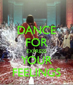 Dance for express Your Feelings