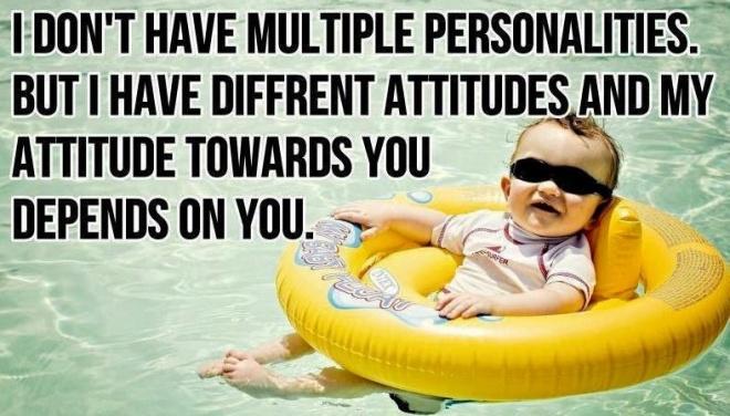 Different Attitudes