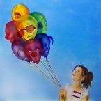 This is a good description of what Dissociative Identity Disorder can feel like. Photo found at www.redbubble.com
