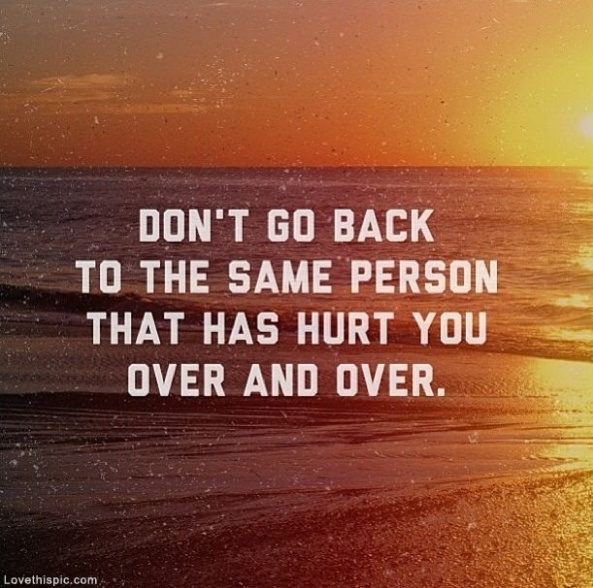 Don't Go Back