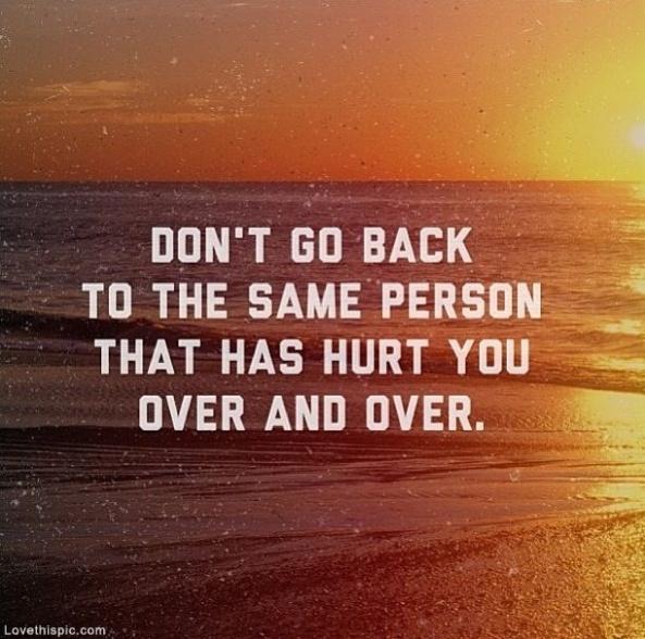 Don't Go Back