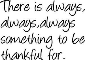 Always Thankful
