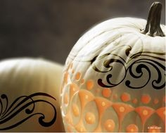 Pretty white pumpkin found at pinterest.com