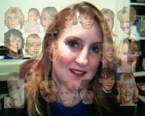 This picture shows what it feels like to be multiple, to have Dissociative Identity Disorder, to be plural-minded. Found at Voices.Yahoo.com with WriteOnMom