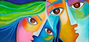 "This beautiful photo of Dissociative Identity Disorder is titled ""You Can Heal Your Trauma"" at yourpresenceheals.com"
