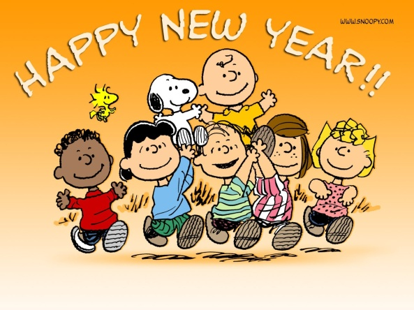 Snoopy's Happy New Year