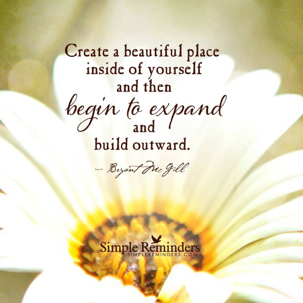 Create a Beautiful Place