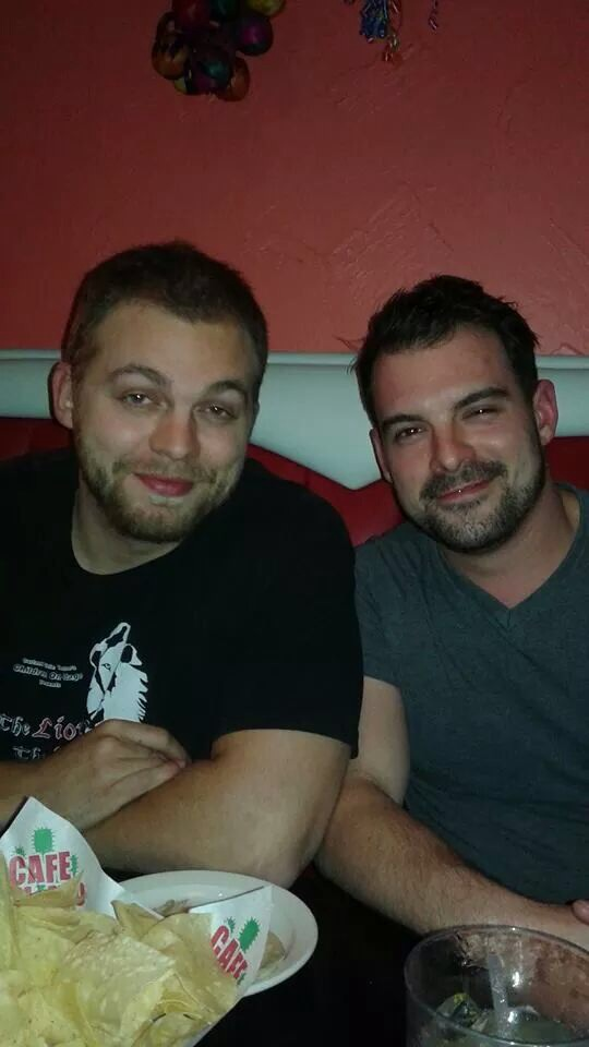 My son, and my other neighbor-son.  Such dear friends for 20 years. We will miss you forever.