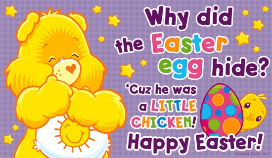 Carebears Easter Riddle