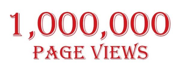 1,000,000 Page Views