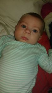 Precious Brayleigh, 3.5 months old